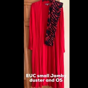 Jamby small duster and OS leggings